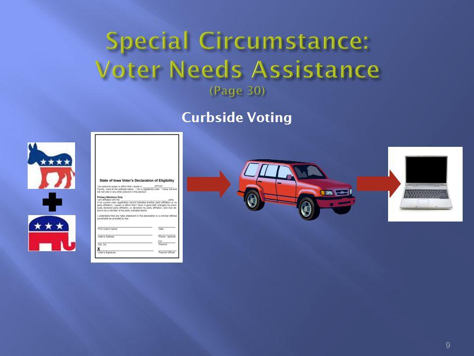 9 Curbside Voting