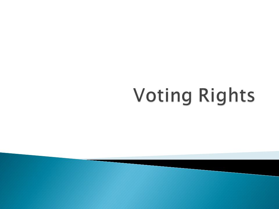 The Civil Rights Act of 1957 allowed the Justice Department to seek injunctions and file suits in voting rights cases.