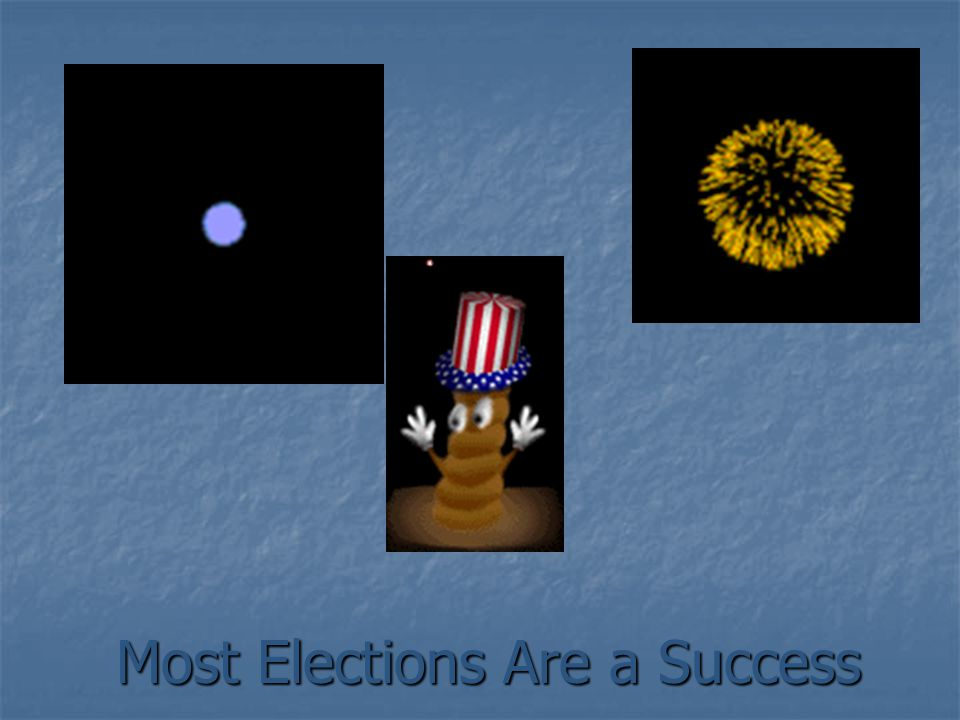 Your Actions Can Effect The Outcome of an Election