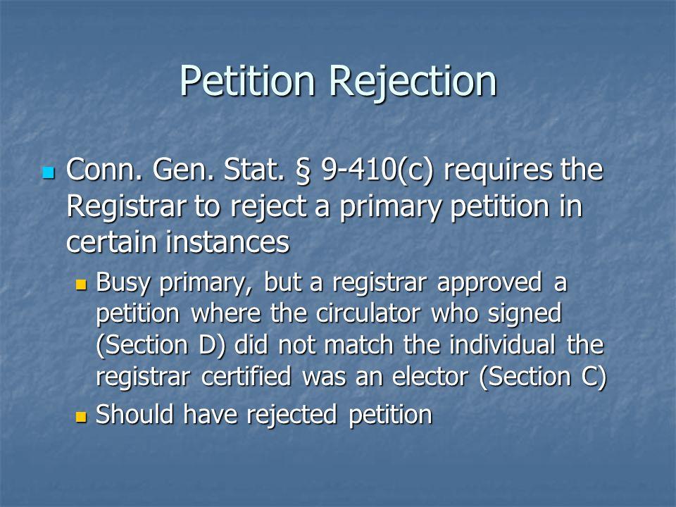 Petition Deadline Hours 1:00 – 4:00 p.m.