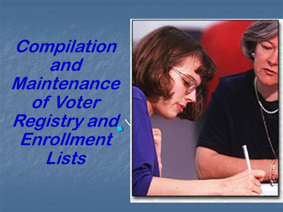 Uniform Application of State Election Laws