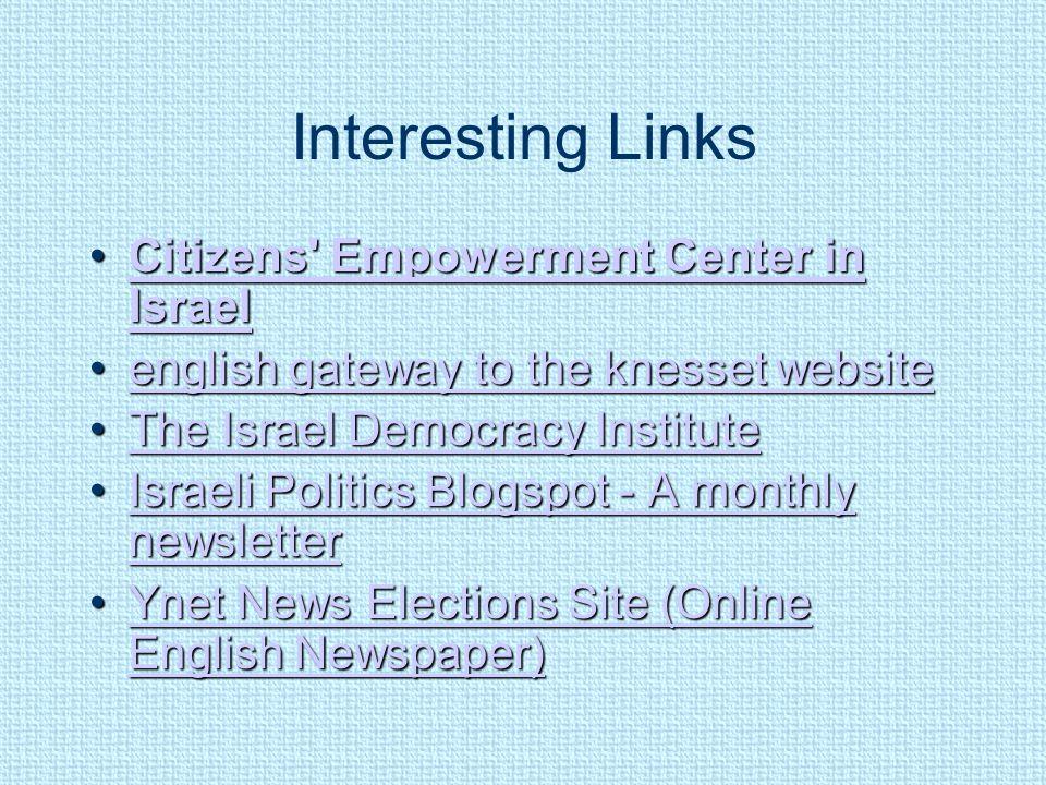 Interesting Links Citizens' Empowerment Center in IsraelCitizens' Empowerment Center in IsraelCitizens' Empowerment Center in IsraelCitizens' Empowerm