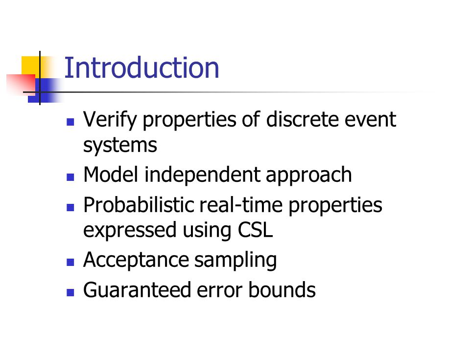 Modified Test Find an acceptance line and a rejection line given , , , ,  ', and  ': With  ' and  ' > 0 Reject Accept Continue sampling Number of samples Number of positive samples
