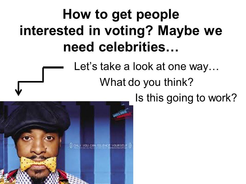What if I won't be around to vote.