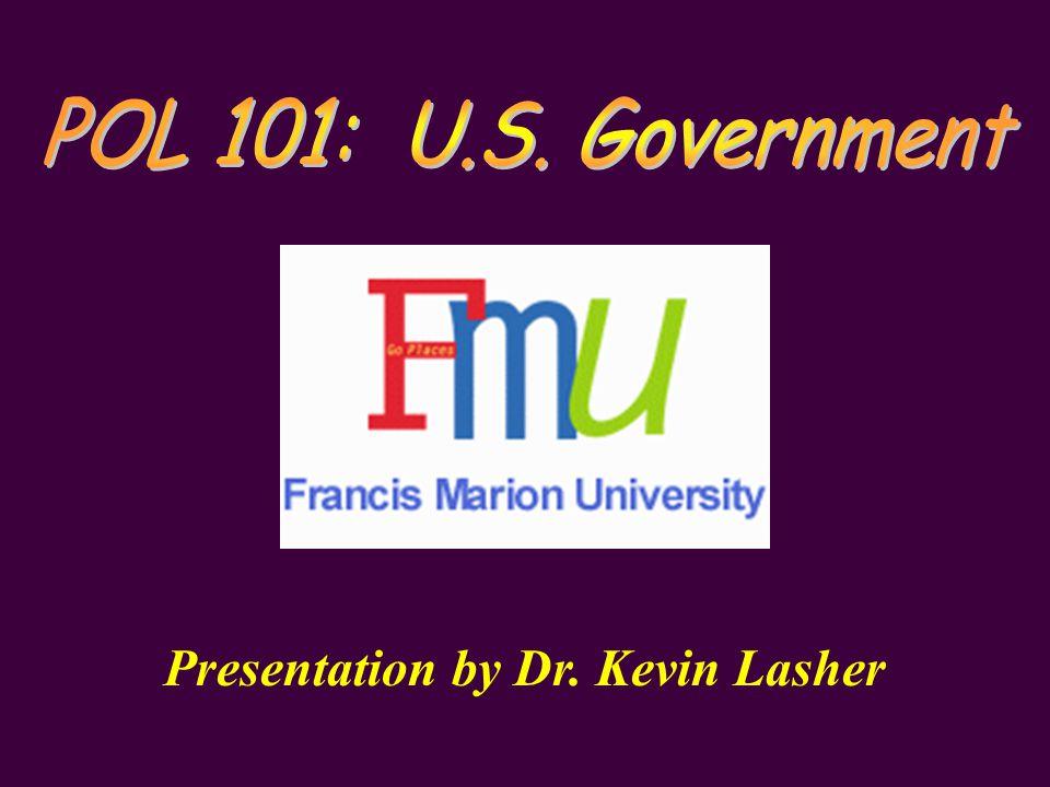 Presentation by Dr. Kevin Lasher