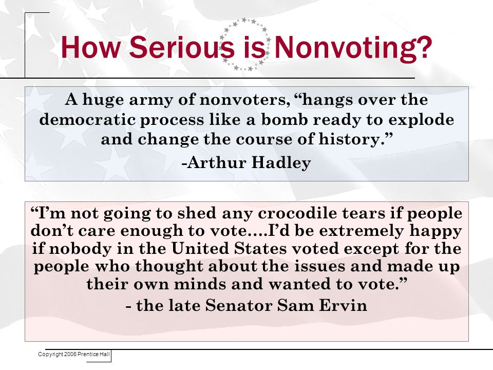 How Serious is Nonvoting.