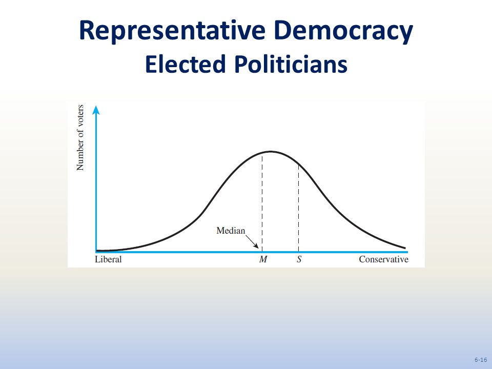 Representative Democracy Elected Politicians 6-16