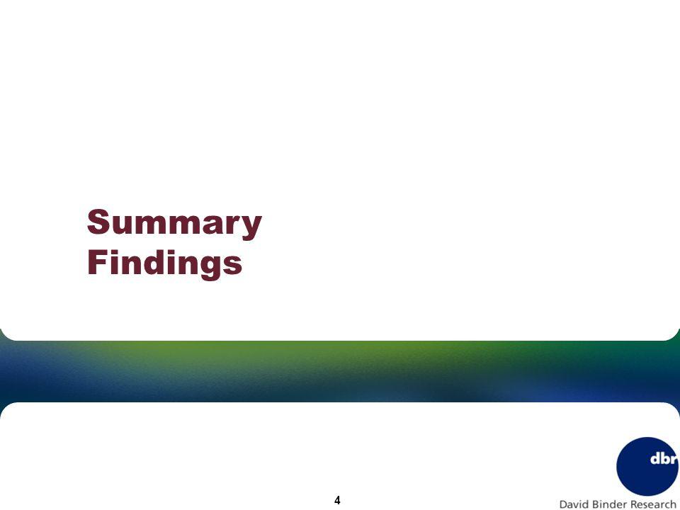 Summary Findings 4