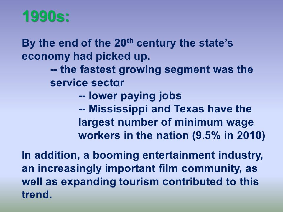 1980s: The 1980s were an economic disaster for Texas.
