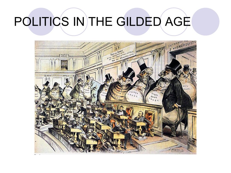 To modern eyes, the nature of the American political system in the late 19 th century appears in many ways paradoxical.