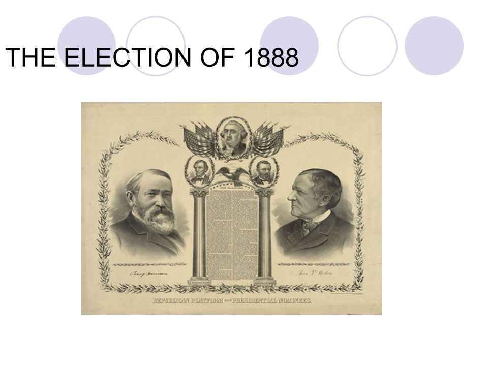 THE ELECTION OF 1888