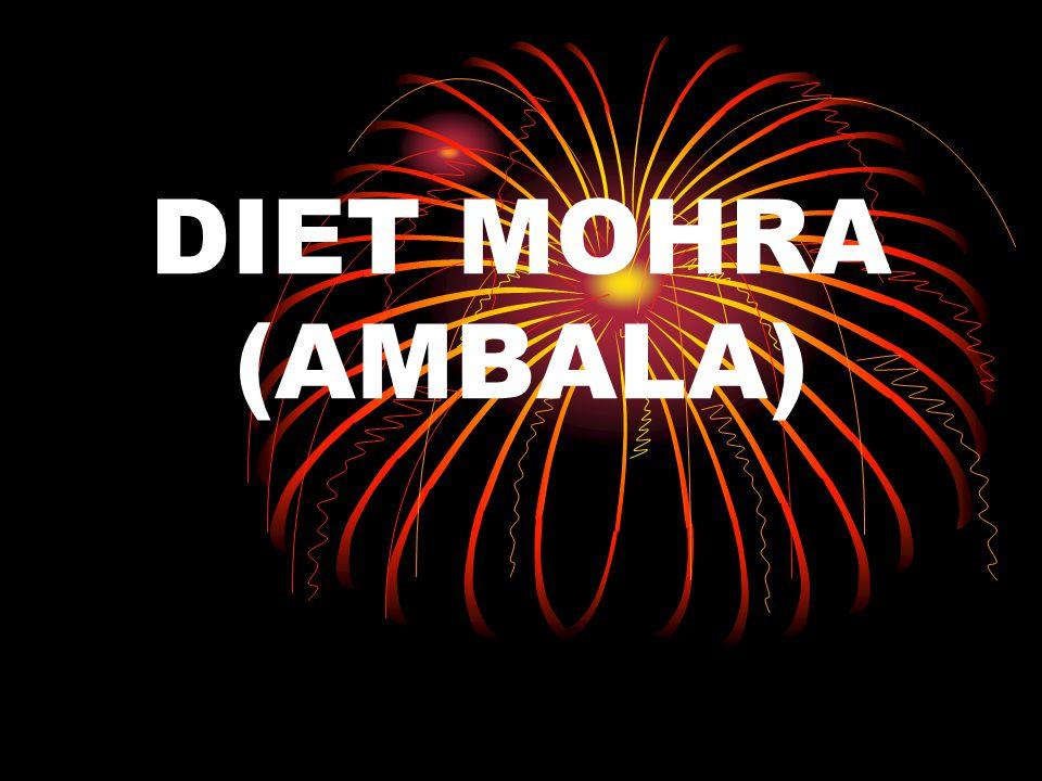 DIET MOHRA (AMBALA)