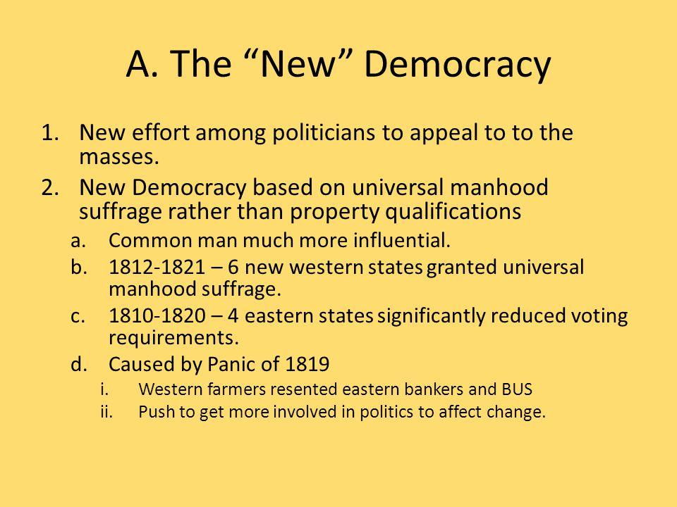 B. The Corrupt Bargain 1.4 Candidates a.Andrew Jackson (TN) b.John Q.