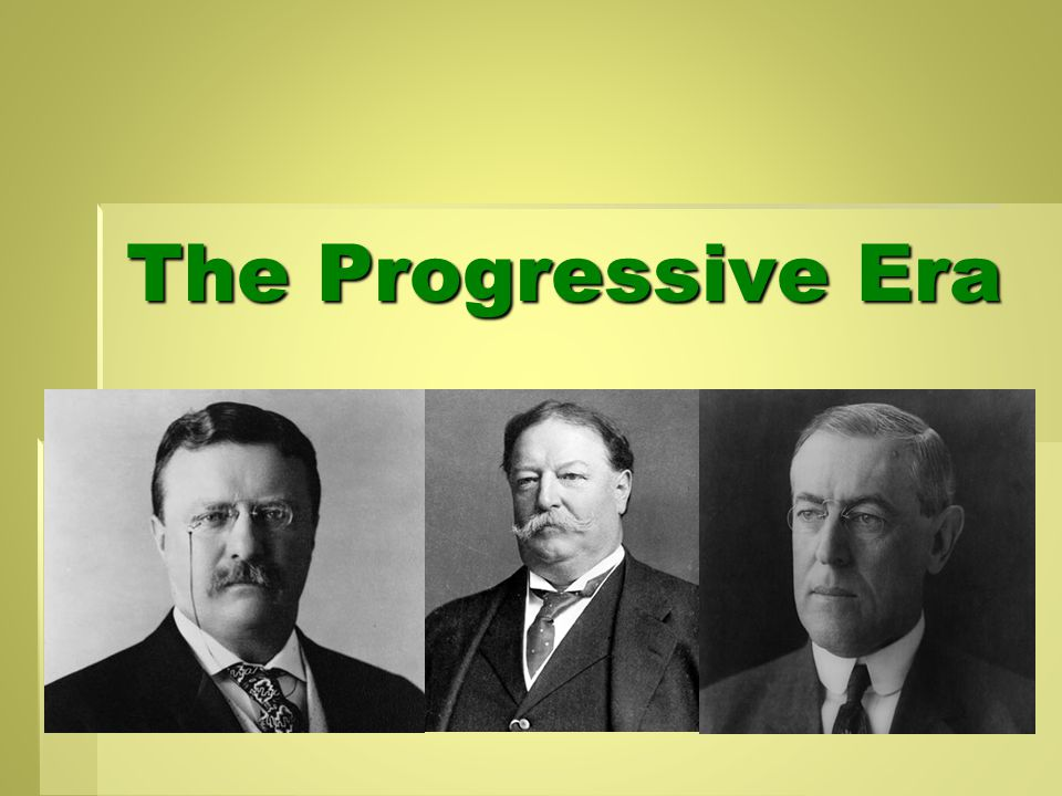 Impact of the Split  1912 Election – Progressive Republicans did not want to support Taft  Split from the party and formed a 3 rd party called the Progressive Party  Nominated T.
