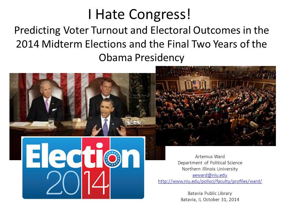 I Hate Congress.