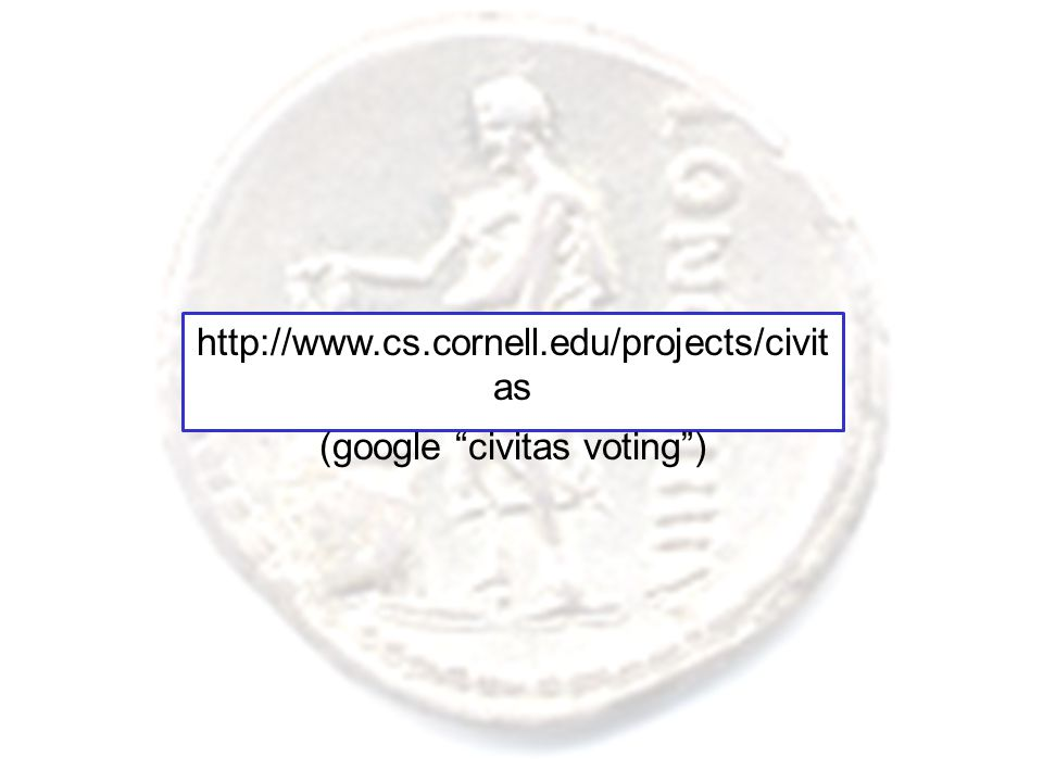 http://www.cs.cornell.edu/projects/civit as (google civitas voting )