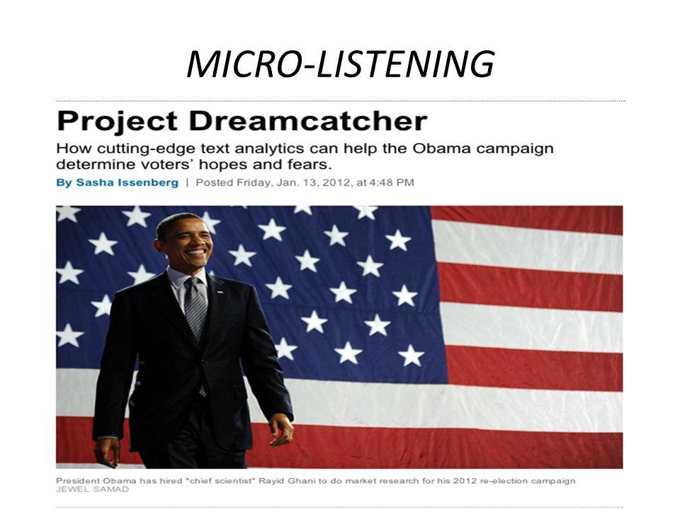 MICRO-LISTENING