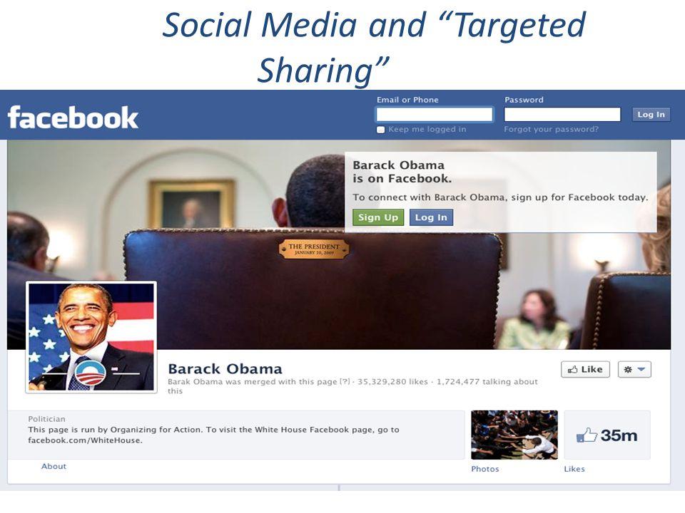 "Social Media and ""Targeted Sharing"""