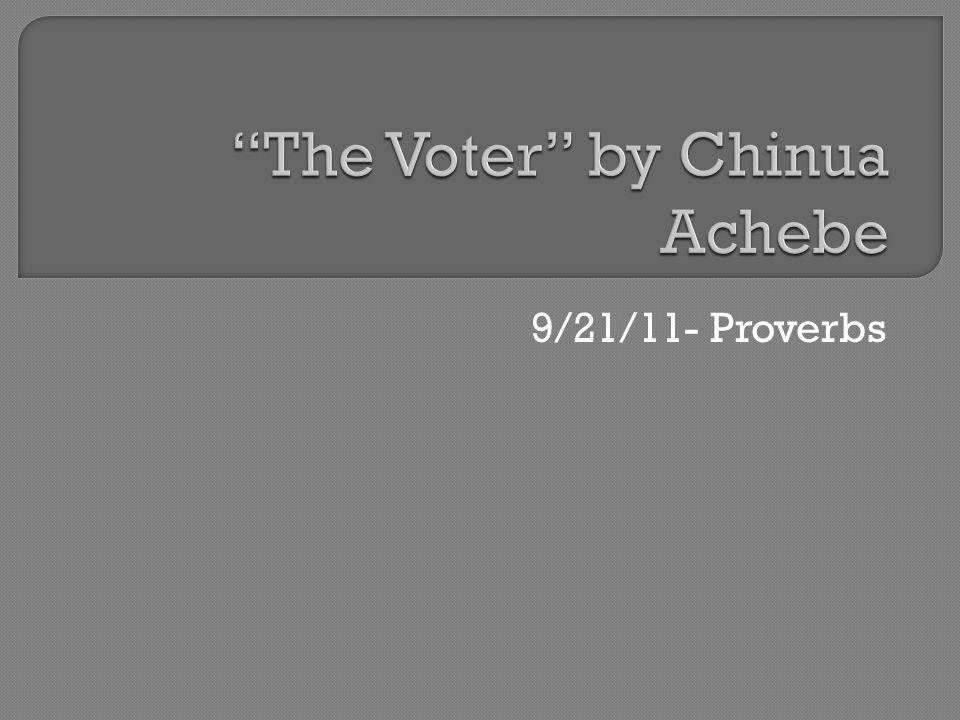 9/21/11- Proverbs