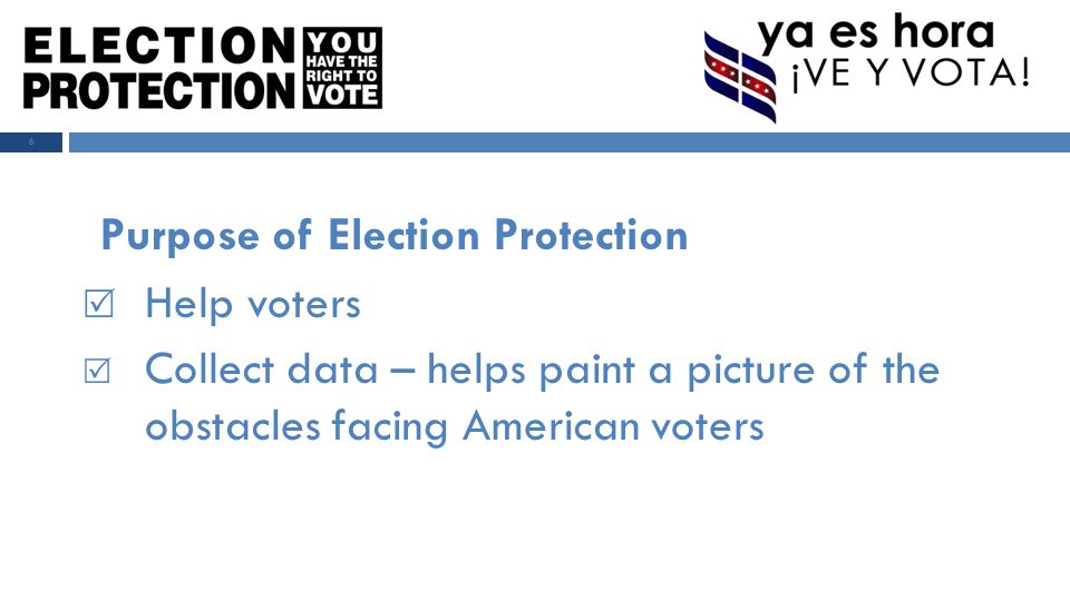 In 2012 Election Protection will:  Target at least 20 states  Run national call centers in NY, DC & CA  Run local call centers in target areas  Organize Election Day field programs 7 2012 National Plan