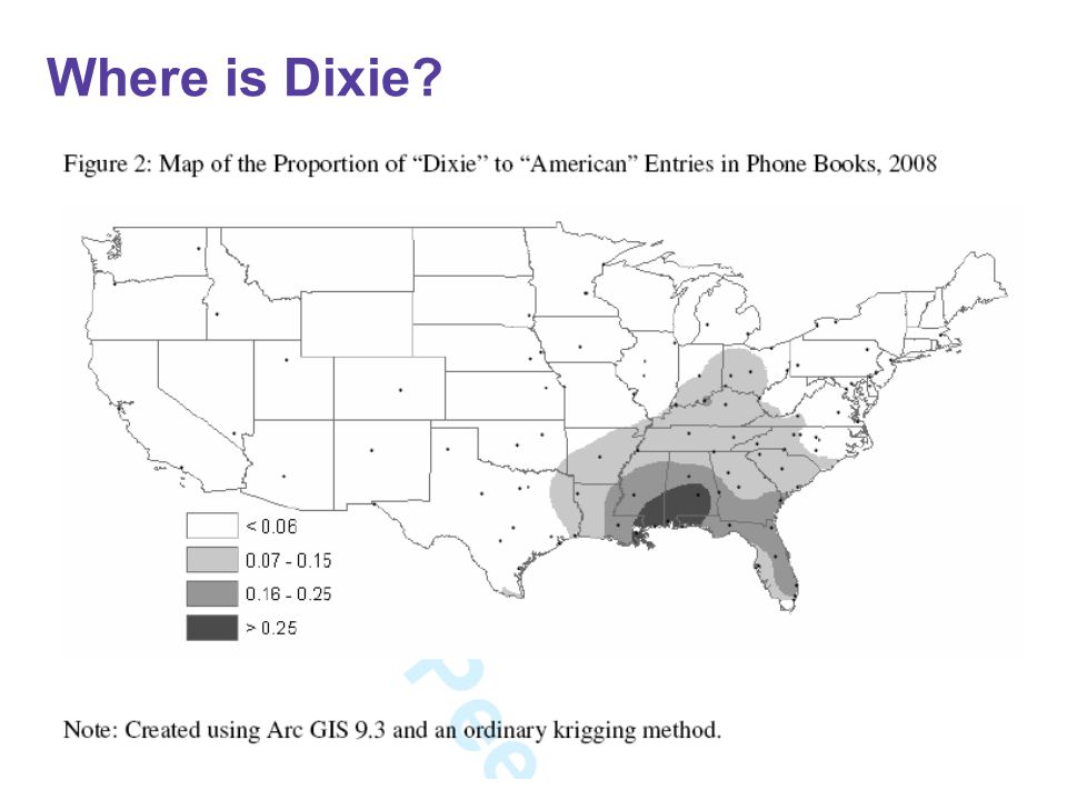 Where is Dixie?