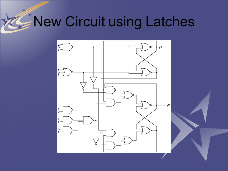 New Circuit using Latches