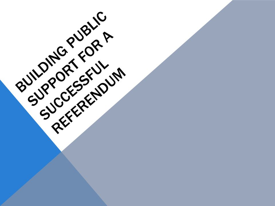 REFERENDUM FOR ELECTORAL DEBT Local Government Unit Debt Act: Department of Community and Economic Development PA Law – 53 Pa.C.S.