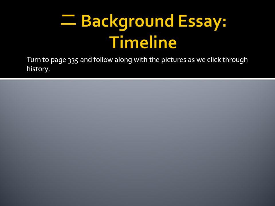 Skim the background essay for these words and use context clues and nearby student to come up with approximation definitions.