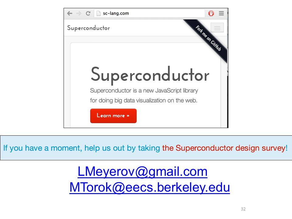 32 LMeyerov@gmail.com MTorok@eecs.berkeley.edu