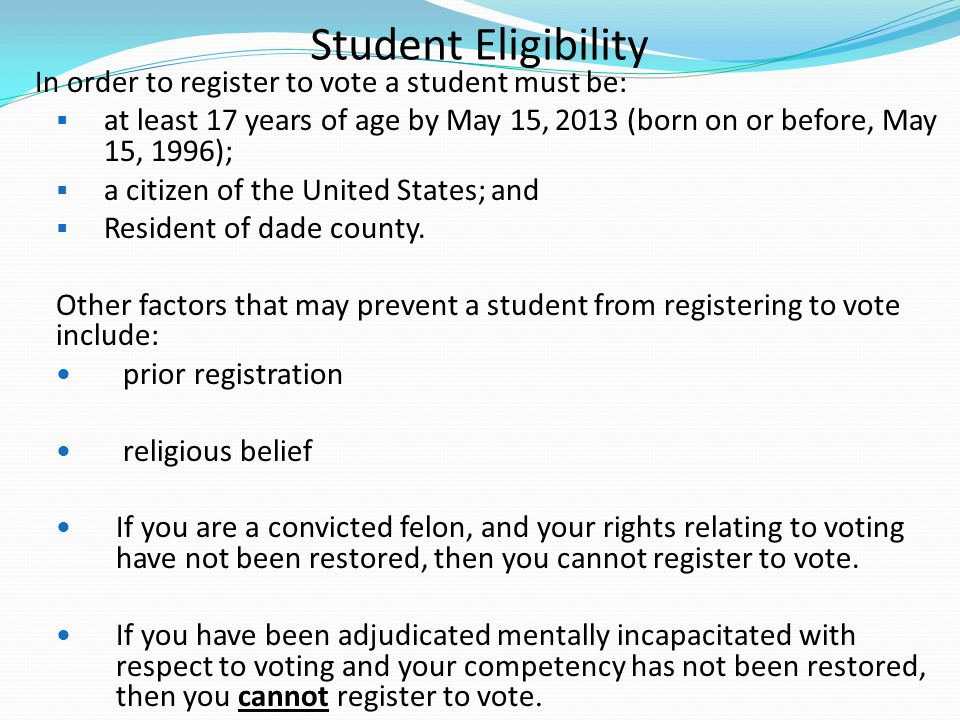 Completing the Voter Registration Card REQUIRED ACTION A-G REQUIRED ACTION SIGNATURE NEW REGISTRATION PARTY AFFILIATION
