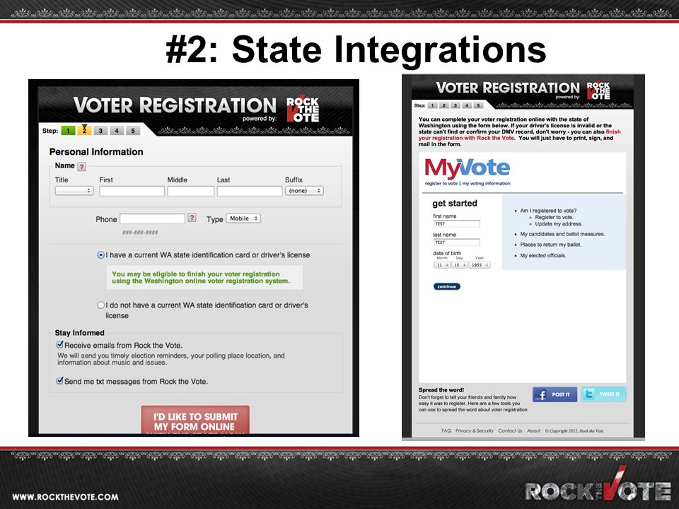 #2: State Integrations