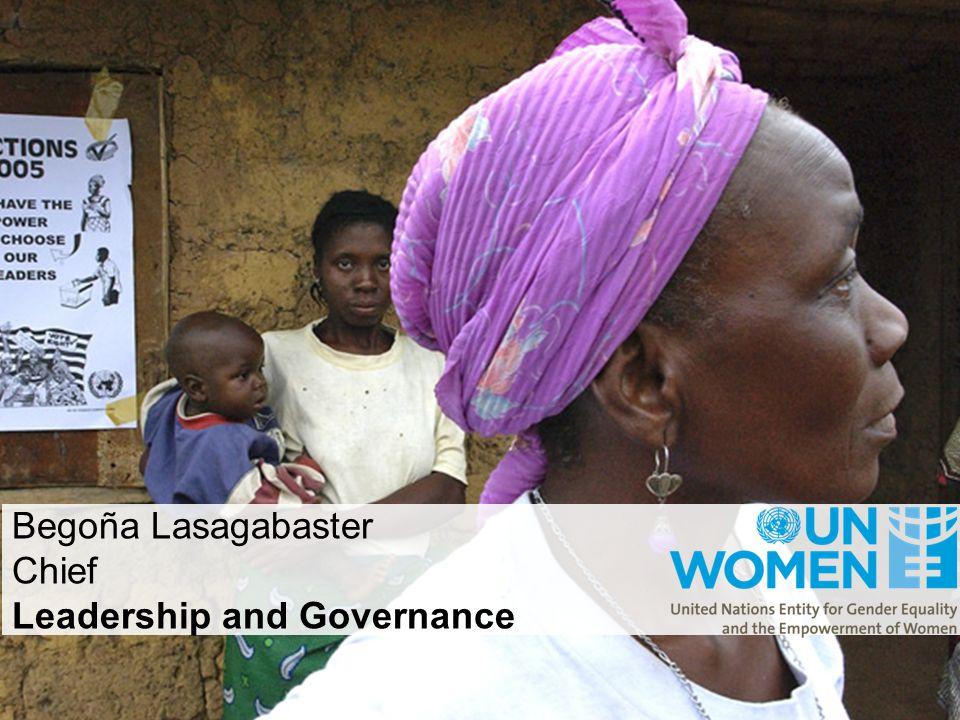 Begoña Lasagabaster Chief Leadership and Governance