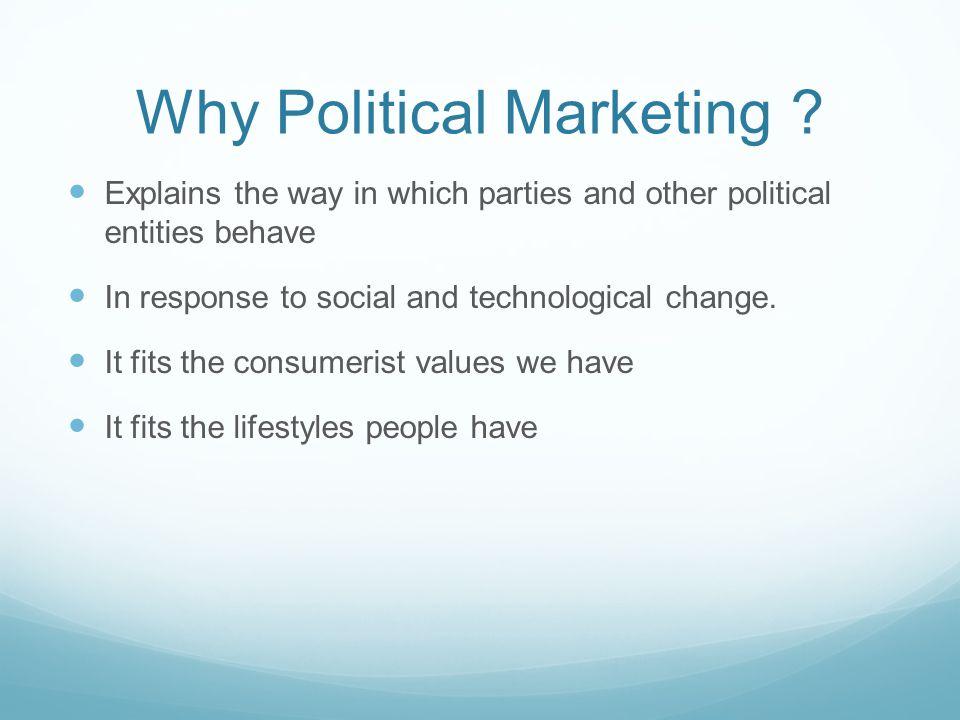 Why Political Marketing .