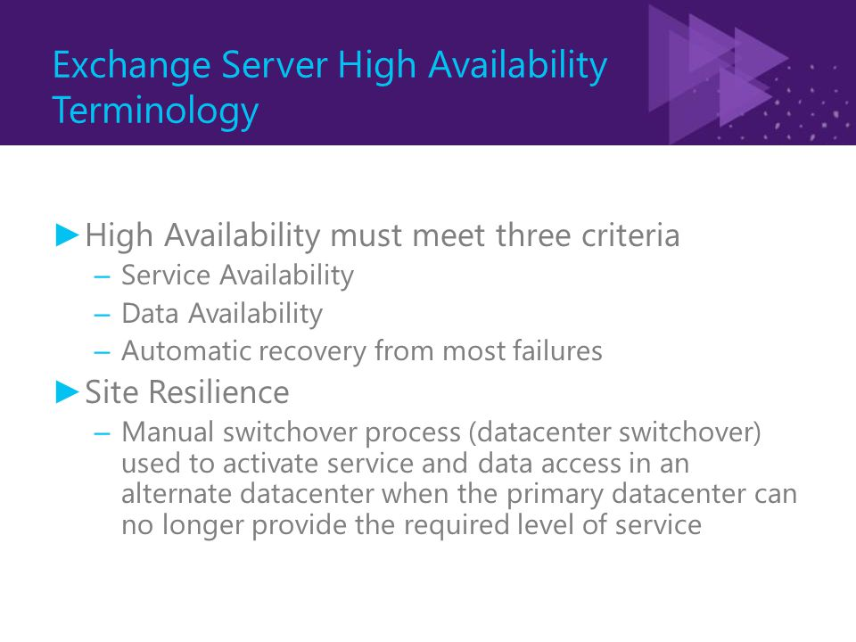Exchange Server 2010 High Availability Concept: Circular Logging and Continuous Replication