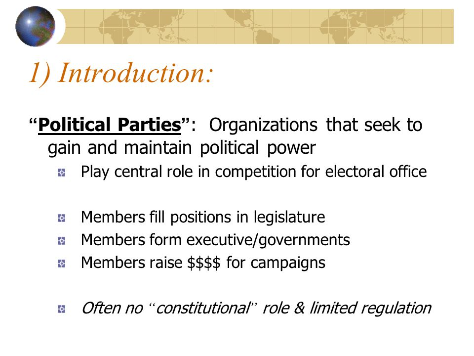 Party Caucus : Organization/meeting of all the party ' s parliamentary members Closed meetings to discuss strategy Ensures party discipline Members vote the party line or they must leave caucus =No party support in next election Big difference between Canada and US Dominance of leader over caucus can lead to executive dominance in parliamentary system