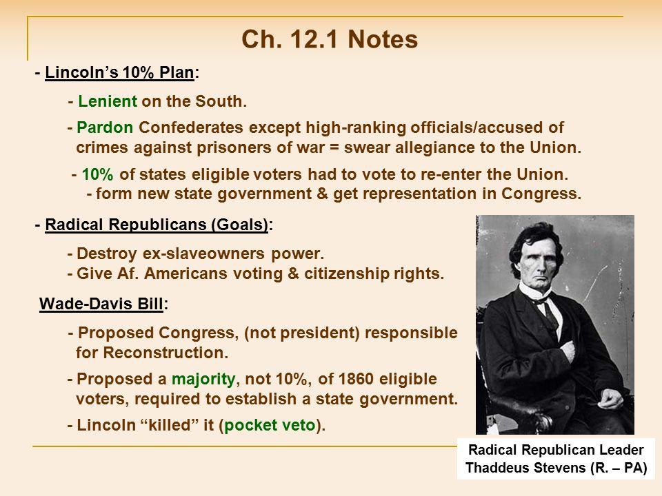 - Grandfather Clause: If grandfather voted before the Civil War, then you could.
