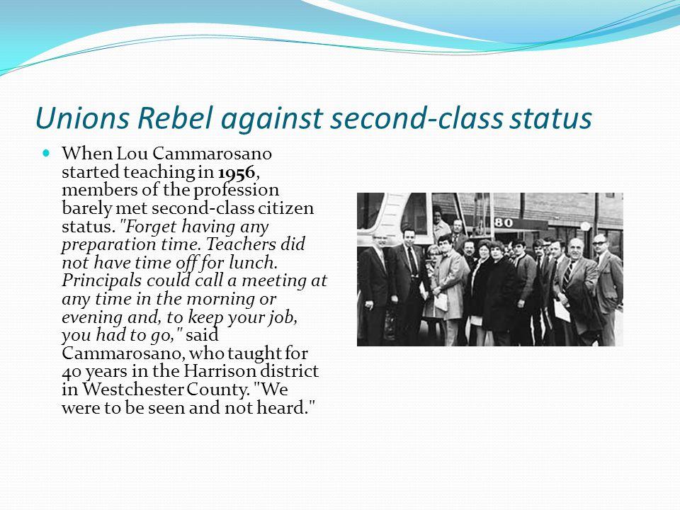 Original Unions NYSTA – an NEA affiliate United Teachers of NY – an AFT affiliate Thomas Hobart Al Shanker