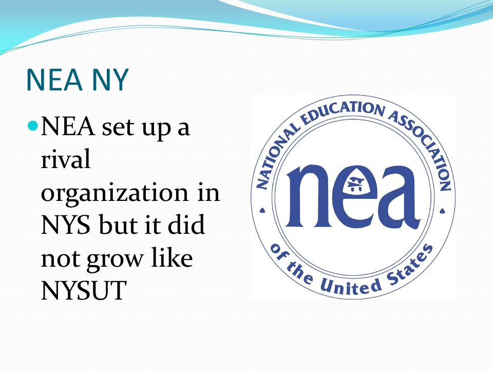 NYSUT Grows NYSUT membership continues to grow as it looks to organize professionals in and out of the field of education.