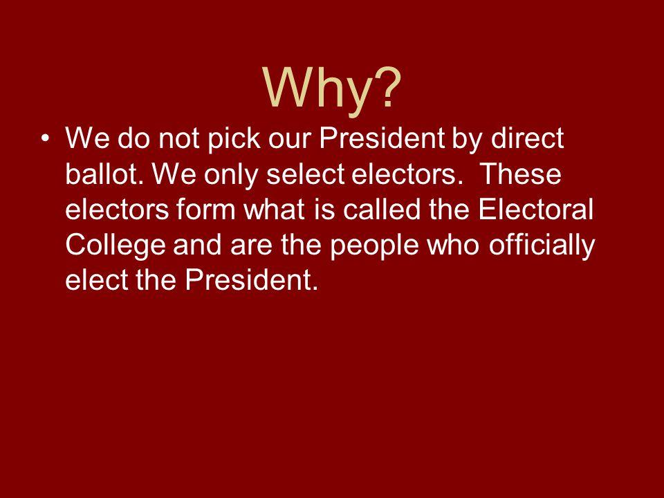 2000 Popular Vote Albert Gore48.7% George W. Bush48.5% Electoral College Gore266 Bush271 Winner: Bush