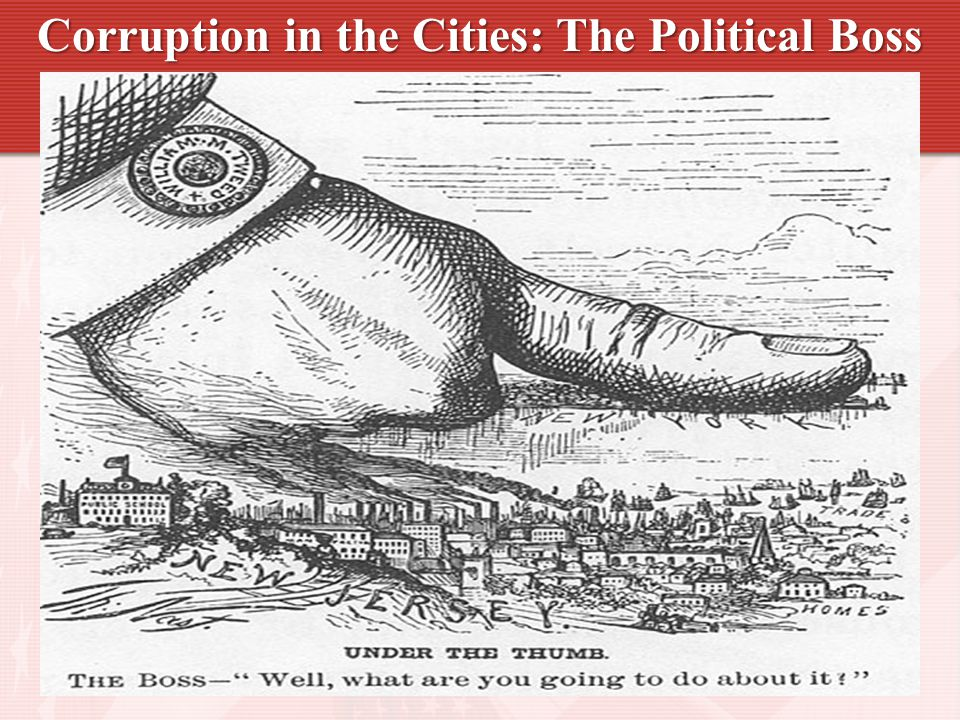 Corruption in the Cities: The Political Boss