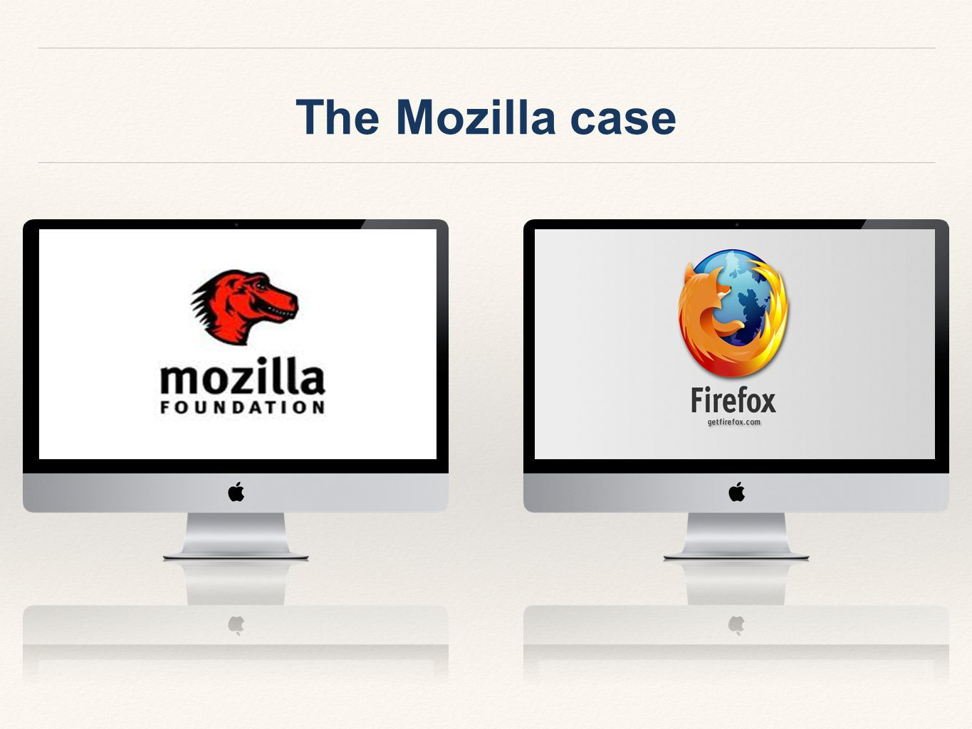 The Mozilla case
