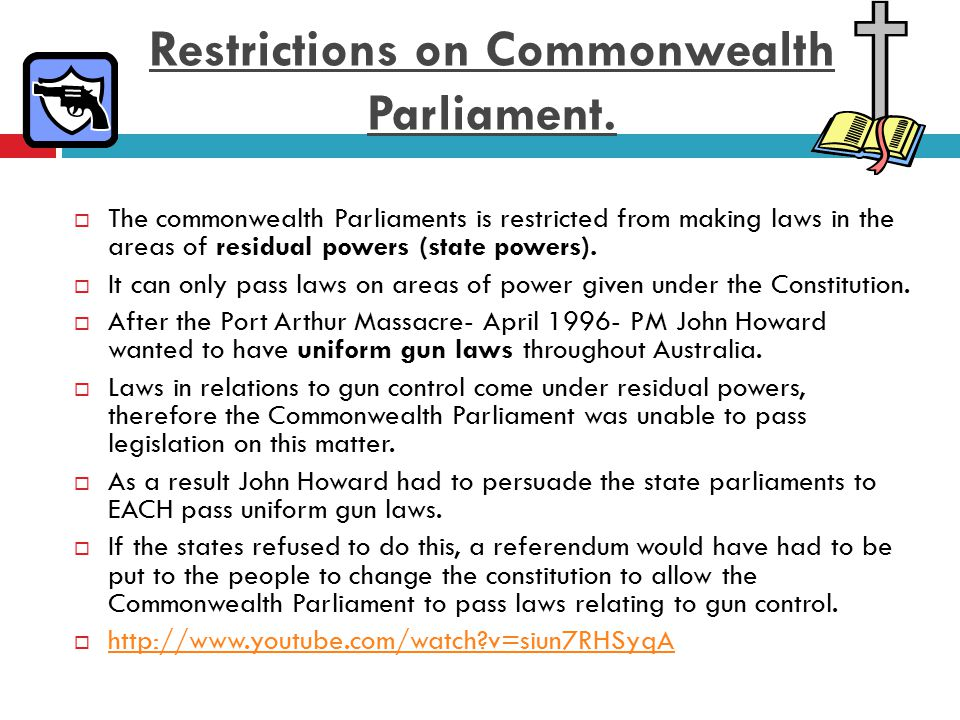 Referendums changing the Division of Powers  Not all referendums change the division of power.