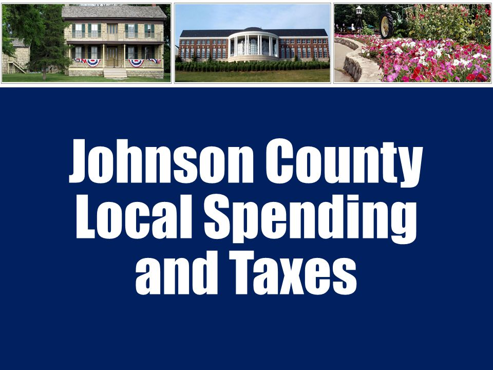 Johnson County Local Spending and Taxes