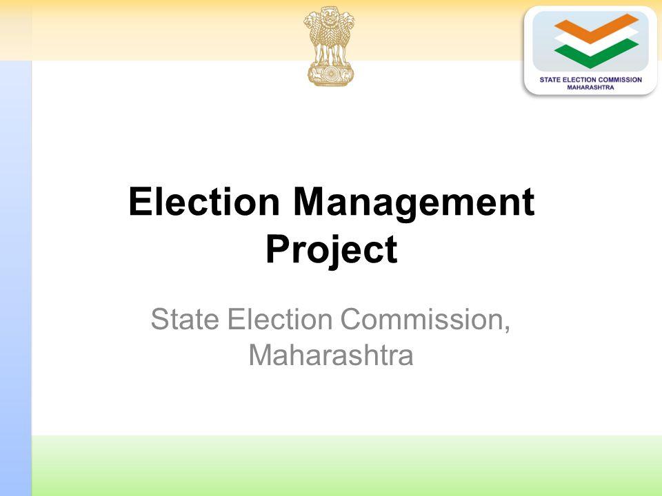 Election Management Project State Election Commission, Maharashtra