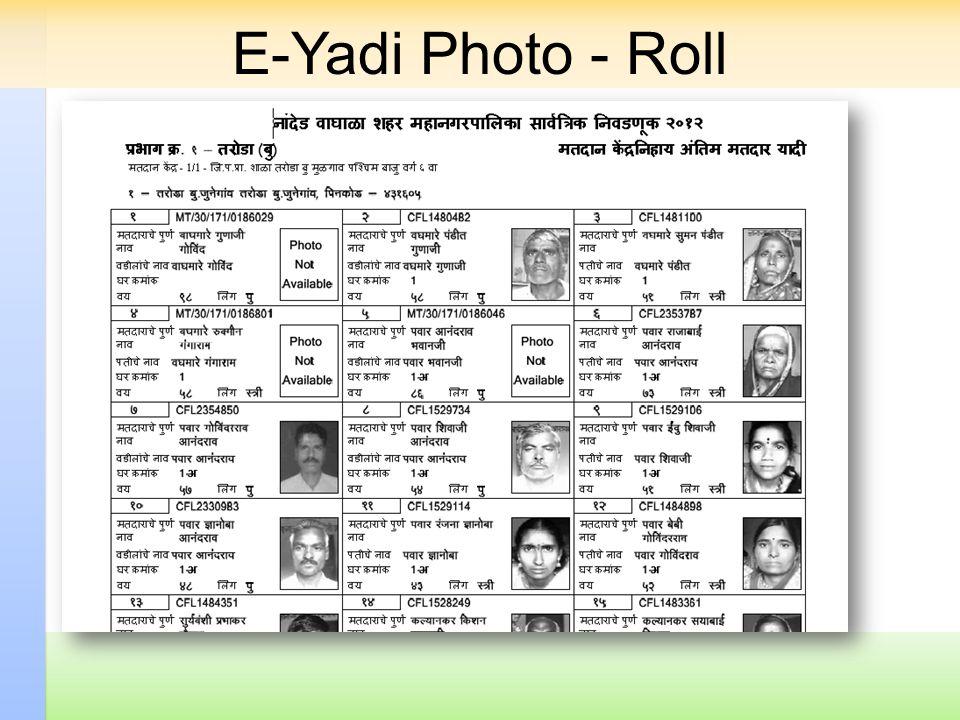 E-Yadi Photo - Roll