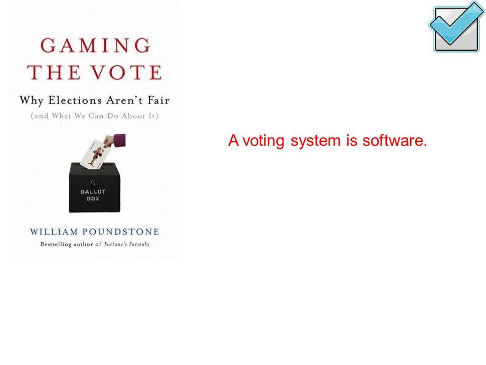 Scenario: all B at bottom 1.Run election 2.Change votes 3.Rerun election PE and all B at bottom  B wins bottom