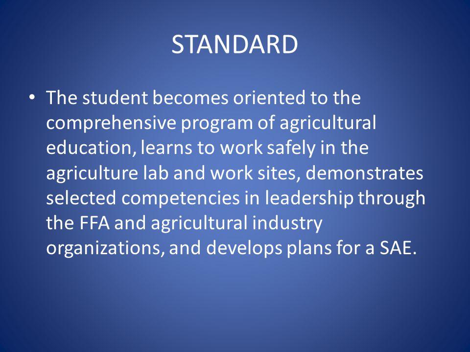 Fundamentals of the FFA