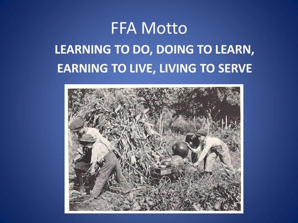 FFA Salute The Pledge of Allegiance