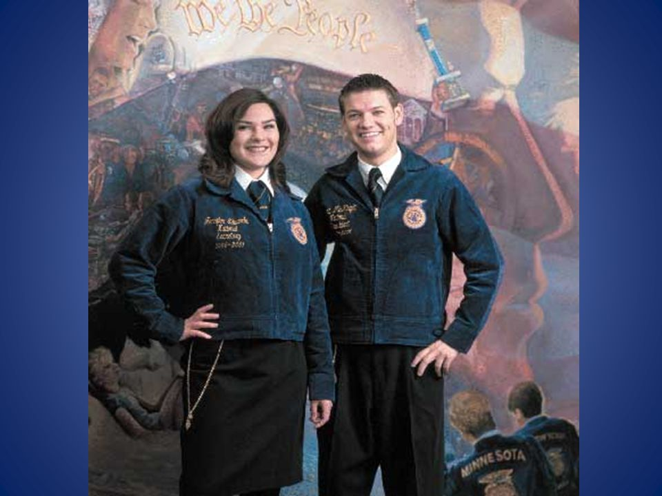 Why Official Dress? Official Dress is the uniform worn by FFA members at local, state, and national functions. Provides identity and gives a distincti