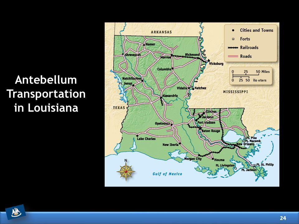 Antebellum Transportation in Louisiana 24